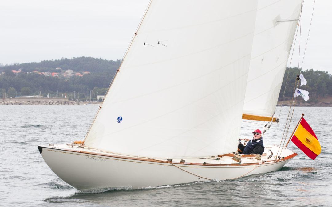 S.M. El Rey Juan Carlos I navegará en Sanxenxo