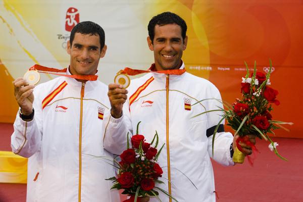 Cuatro medallas de Oro Olímpicas en la Regata Rey Juan Carlos I El Corte Inglés Máster