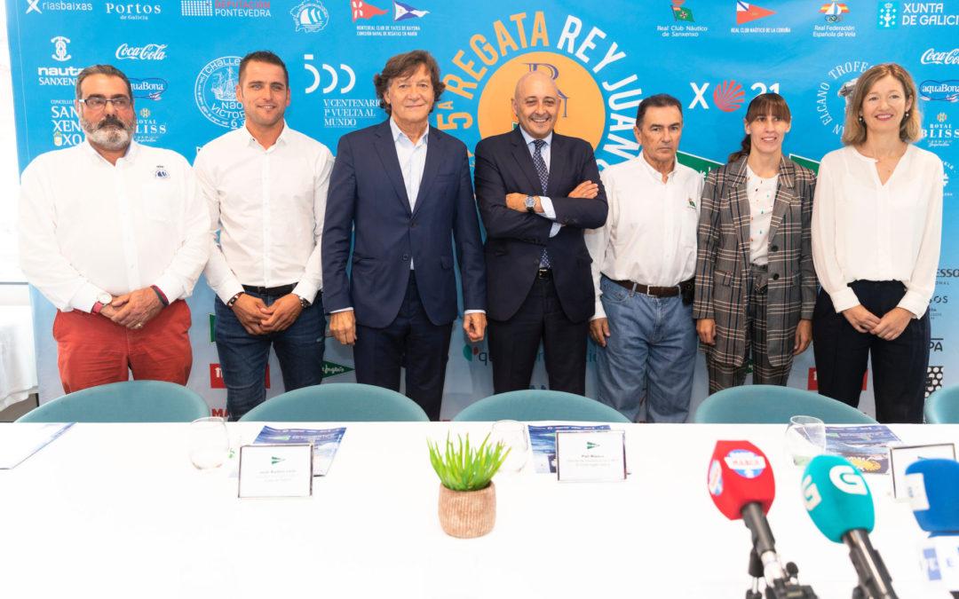 """Pedro Campos: """"El Rey Don Juan Carlos vendrá a su regata en Sanxenxo"""""""